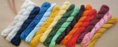 Sashiko Thread (145 meter / Mono Color) $12.50/skein