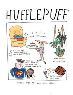Great. I am a Hufflepuff and I have back problems....