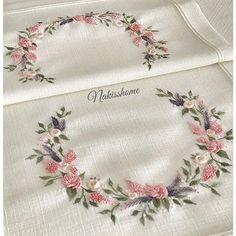 ........🎀🌸🎀........ . . . . . #brazilianembroidery #embroidery #ribbon #ribbonembroidery #brezilyanakisi #nakış #çeyiz #rokoko #rokokonakışı #photo #phototheday #pink #rose #crosstitch #stitch #handmade #handmadeembroidery #monogram #masaörtüsü #servistakımı #yemektakimi #needlework #dmc #dmcembroidery #dmcthreads