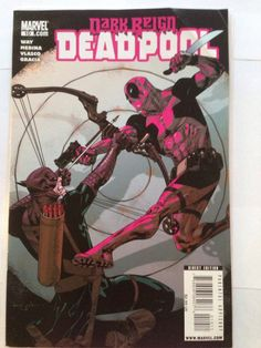 Deadpool #10 Marvel Comic NM Grade or Higher Dark Reign Hawkeye