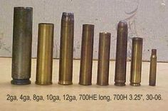 12ga Rifle shell comparisons