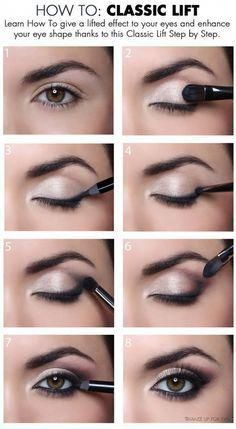 When it comes to eye make-up you need to think and then apply because eyes talk louder than words. The type of make-up that you apply on your eyes can talk loud about the type of person you really are. It doesn't really matter if y Eye Makeup Tips, Makeup Goals, Skin Makeup, Makeup Ideas, Makeup Tutorials, Makeup Tricks, Makeup Products, Makeup Brands, Makeup Kit