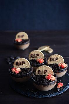 ¡Qué cosa tan dulce!: Mousse de chocolate terrorífica...