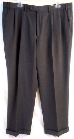 RALPH LAUREN Pants Mens Size 38Wx29L Pleated Front Dress Gray #RalphLaurendresspants #mensslacks