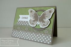 Stampin' Up, Watercolor Wings, Thank you Card