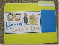 Make file folder game for preschool age