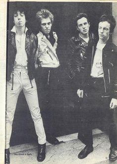 "zombiesenelghetto: ""The Clash in Paris, Feeling Magazine, 1978 """