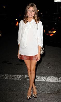 Olivia Palermo At New York Fashion Week, September 2011