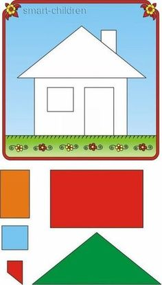 Recortar y pegar is part of Preschool worksheets - Láminas para recortar y pegar Preschool Learning Activities, Preschool Curriculum, Preschool Worksheets, Infant Activities, Book Activities, Preschool Activities, Kids Educational Crafts, Zoo Preschool, Preschool Centers