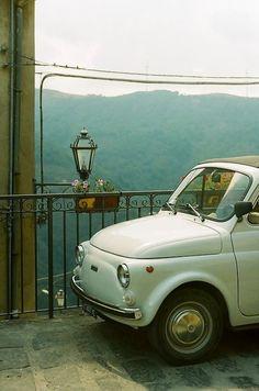 ysvoice:    | ♕ | FIAT 500- Montalbano, Sicily | by jellicle_kitten