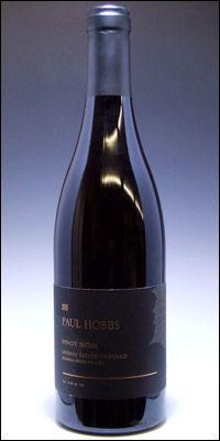 "Ranked 6th in ""Wine Spectator""T OP100 in 2010.  Paul Hobbs Pinot Noir Russian River Valley 2008"