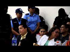 Nicaragua: Ambiente durante la lectura de sentencia contra 18 falsos periodistas de Televisa que fueron declarados culpables por narcotráfico, lavado de dinero y crimen organizado. LISANDRO ROQUE / END