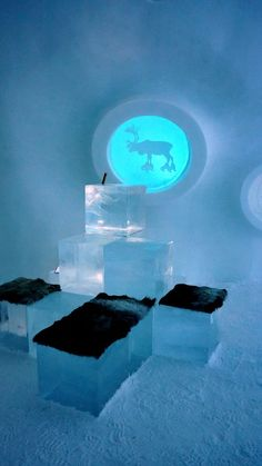 Ice Hotel Sweden, Ice Ice Baby, Blue, Travel, Color, Ice Hotel In Sweden, Viajes, Colour, Destinations