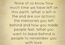 Lessons Learned in Life | Deserved to be loved.
