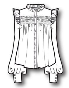 ladies shirt www.sewingavenue.com
