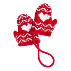 Knitted Glove Decoration - Cosy Christmas - Create the Look - Christmas Themes - Christmas Cosy Christmas, Cheap Christmas, Christmas 2014, Christmas Themes, Christmas Tree Decorations, Christmas Ornaments, Holiday Decor, Knitted Gloves, Create