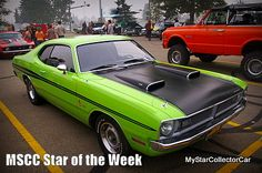 MSCC Jan 11 Star of the Week-this car had to change its name...read why: http://www.mystarcollectorcar.com/3-the-stars/40-model-stars/2567-mscc-southside-star-of-the-day.html #Dodge #ABodyDemon