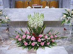 Einzigartiges Blumenarrangement 2009, Lunar New Year & Special Day 13. Dezember 2009 (Daelim 4th Week) Zum Schluss leuchten alle vier Lichter auf weiß. Es gibt kein Great Glory-Lied in der Messe der Daelim und der Fastenzeit. Messias sehr nahe zu kommen