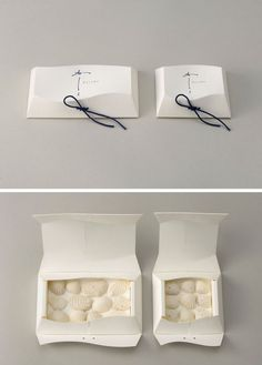 This is beautiful, packaging something to eat I think PD: