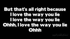Skylar Grey - Love the way you lie HD with Lyrics