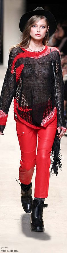Paris FW Zadig & Voltaire Spring 2014 Ready-to-Wear #Boho #Streetstyle