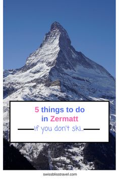 A guide for non-skiers visiting Zermatt, Switzerland in winter with lots of fun things to do from a helicopter ride with Air Zermatt to clay-pigeon shooting.