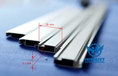 Anodizing aluminium profile for sliding doors and windows, aluminium profile frame for window screening.