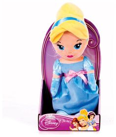 Buy Disney Princess 10 inch Cute Cinderella at Argos.co.uk - Your Online Shop for Teddy bears and interactive soft toys.