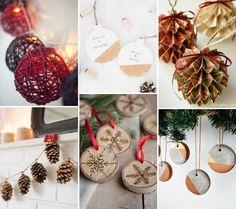 12 tutoriais de decorações de Natal criativas e acessíveis