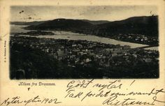 Buskerud fylke Hilsen fra Drammen brukr 1902 Utg G.A. Madsens forlag