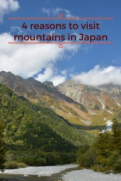4 reasons to visit mountains in Japan