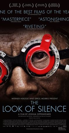 The Look of Silence Watched February 6, 2016 5 out of 5