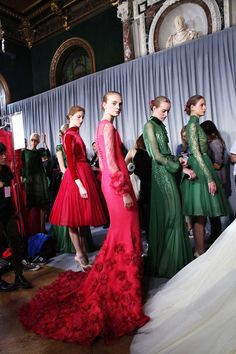 Georges Hobeika Couture backstage