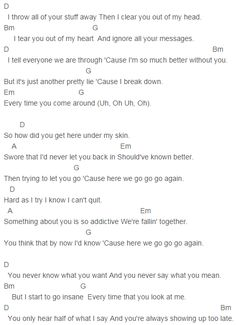 Little talks ukulele tabs pdf