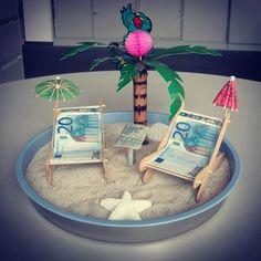 Hochzeitsgeschenk Geld für Hochzeit am Meer