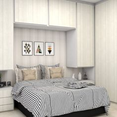 For the Home Trendy Small Master Bedroom Closet Ideas Budget Ideas Acne: Light Ther Room Design, Small Bedroom Storage, Small Master Bedroom, Home Decor, Bedroom Furniture, Small Room Bedroom, Small Bedroom, Small Master Bedroom Closet Ideas, Bedroom Bed Design