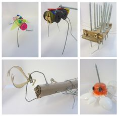 Recycled Bugs - Year 8