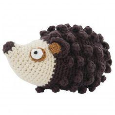 #sebra #hedgehog #rattle #igel #rassel Babyrassel Igel in Handarbeit gehäkelt und mit süßem Glöckchen-Klang. Cute HEDGEHOG RATTLE