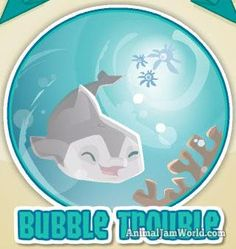 Bubble Trouble Adventure Walkthrough Guide & Cheats animal-jam-bubble-trouble-avi  #Adventures #AnimalJam #BubbleTrouble http://www.animaljamworld.com/bubble-trouble-adventure-walkthrough-guide-cheats/