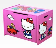 Hello Kitty Toy Box: Pink