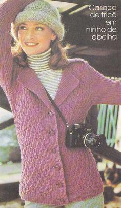 blusa feminina de lã trico receita - Pesquisa Google
