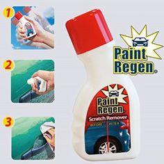 Paint Regen efface rayures 2x100ml avec tampon applicateur en mousse