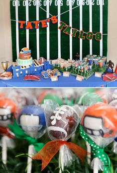 Great football party