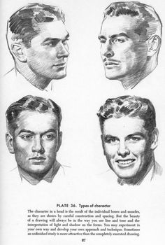Drawing The Head And Hands - Andrew Loomis Anatomy Drawing, Guy Drawing, Drawing Practice, Drawing Lessons, Drawing Techniques, Drawing People, Figure Drawing, Drawing Tips, Art Sketches