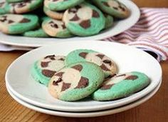 Sugar cookies with a cute panda face in the middle!