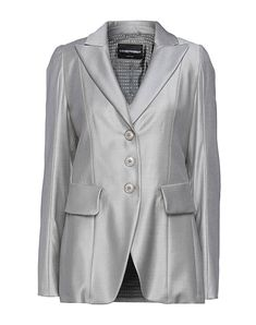 Die beste Online-Auswahl an Jacketts EMPORIO ARMANI - Exklusive Artikel italienischer und internationaler Designer auf YOOX - Sichere Zahlungen - Kostenlose Rückgaben. Emporio Armani, Armani Suits, Suit Jackets For Women, Jackett, Blazer, Grey Fashion, Gray Jacket, Lana, Wool