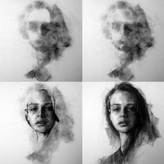 Supreme Portrait Drawing with Charcoal Ideas. Prodigious Portrait Drawing with Charcoal Ideas. Charcoal Drawing Tutorial, Charcoal Sketch, Charcoal Art, Drawing Sketches, Art Sketches, Art Drawings, Contour Drawings, Drawing Ideas, Drawing Faces