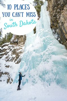 From pioneers to Native Americans and all things Wild West, South Dakota's thrilling history is reflected in the unbelievable diversity of its breathtaking scenery. Here's a guide to some of the unmissable sights in this state! #southdakota #usatraveltips