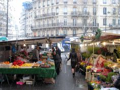 Place Maubert Saturday Market, Paris