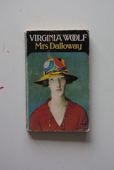 'Mrs Dalloway' by Virginia Woolf : http://bj-books.tumblr.com/post/28707960498 | #BookCover